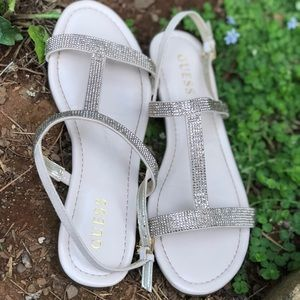 GUESS Sparkle Stappy Flats